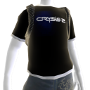 Tee-shirt noir Crysis 2