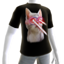 Epic Laser Cat 3 Black T-Shirt