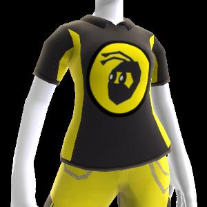 NinjaBee Black Sport Polo