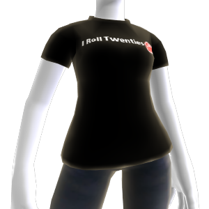 I Roll Twenties T-Shirt