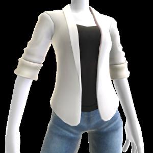 Sports Blazer - White