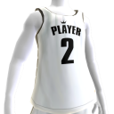KKZ White and Black Player 2 Jersey