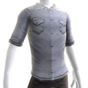 Button Shirt - Grey