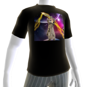 Laser Cat Avatar Shirt 2