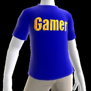 Blue Gamer Gold SS Shirt