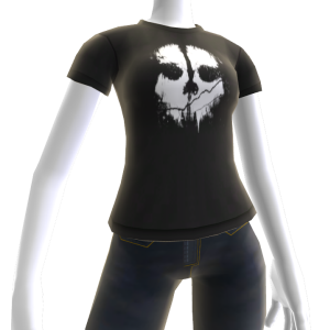Ghosts Skull T-Shirt