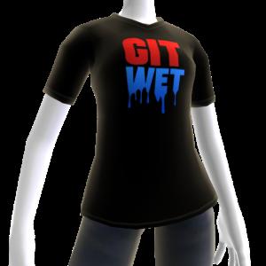Git Wet Tee- Black