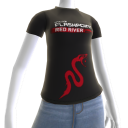 """Red River """"Snake""""-T-Shirt"""