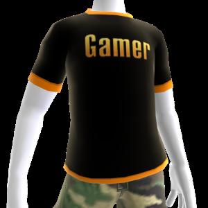 Epic Gamer Shirt Orange Trim