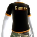 Epic Gamer Shirt Orange Trim