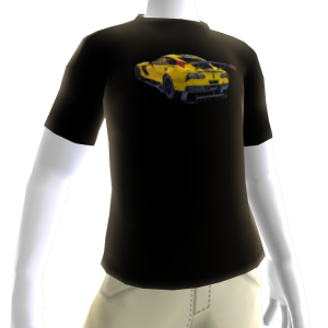 2016 C7.R Edition Corvette Black Tee 2