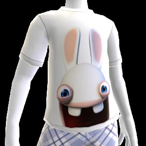 T-shirt Face de Lapin Crétin