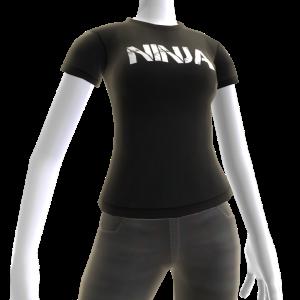 Ninja Black Tee