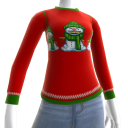 Christmas Ugly Sweater Snowman