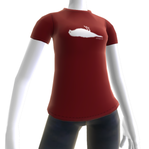 Atticus Silhouette Red t-shirt