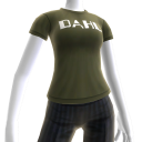 T-Shirt mit Dahl-Logo