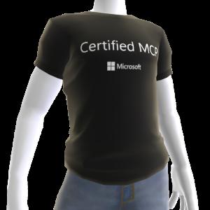 Certified MCP - Black