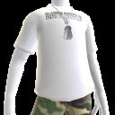 Camiseta (Blanca) con chapas