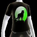 Green Wolf Howl Tee 2