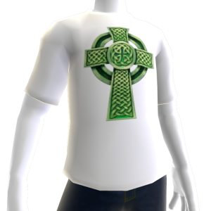 Epic St Pattys White Celtic