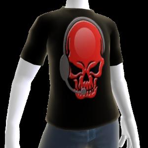 Epic Horror Skull Gamer T-Shirt