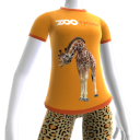 Camiseta de Girafa do Zoo Tycoon