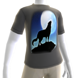 Epic Werewolf 3 Gray T-Shirt