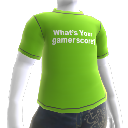 What's your gamerscore? シャツ