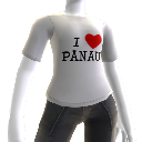 T-shirt I ♥ Panau