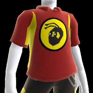 Polo sport rouge NinjaBee