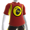 NinjaBee Red Sport Polo