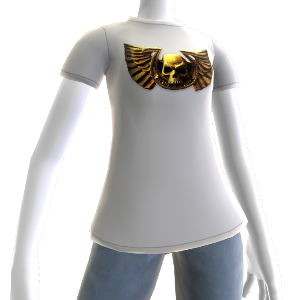 Camiseta calavera alada Ultramarine Space Marine®