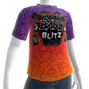 Rock Band Blitz Psych-T-Shirt
