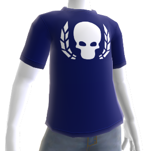 Ultramarines Wreathed Skull Shirt