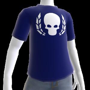 T-shirt Ultramarine crâne couronné