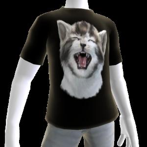 Epic Crying Cat Black T-Shirt