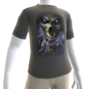 Epic Horror Skull Gray T-Shirt