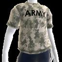 アーミーカモ  Tシャツ