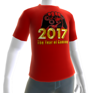 2017 Year of Gaming Red Tee