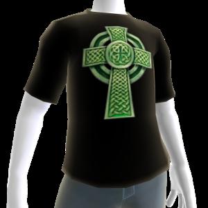 Epic St Patricks Day Black Celtic