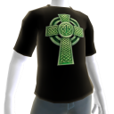 Epic St Patricks Day Black Celtic