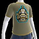T-shirt avec orque 8bits
