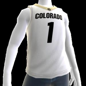 Colorado Basketball Home Jersey