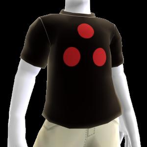 La camiseta con los puntos rojos NVG