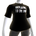 "T-Shirt ""Outlaws To The End"""