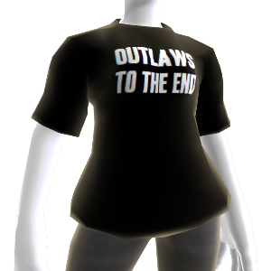 """Camiseta """"Outlaws To The End"""""""