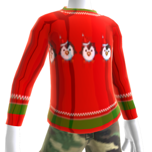 Christmas Ugly Chr Sweater Penguin
