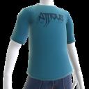 Atticus Metalhead Blue t-shirt