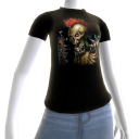 Epic Horror Skull 11 T-Shirt