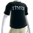 Thief - Cyan Logo T-Shirt